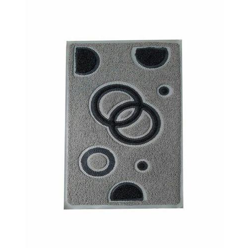 Pvc Rubber Mat Size 38×58 Cm Gray