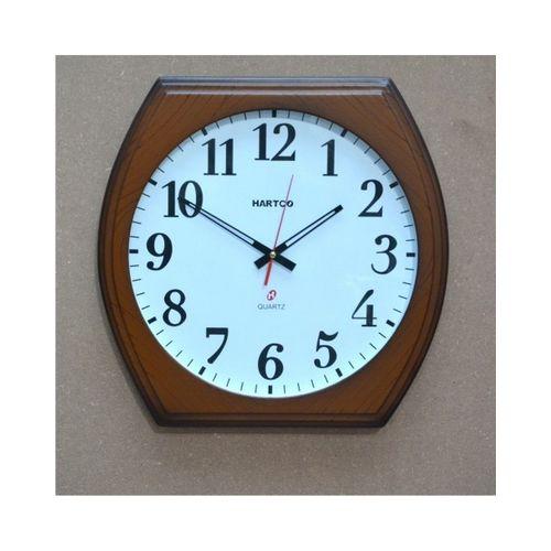 Hartco Clock - Wooden Brown -2086