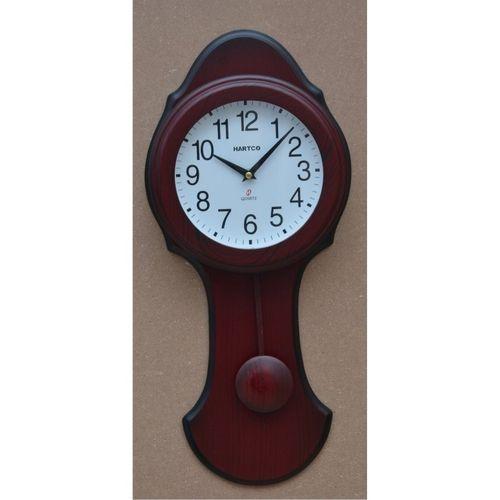 Hartco Clock - Wooden Brown -704L