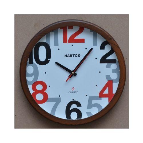 Hartco Clock - Wooden Brown -1030