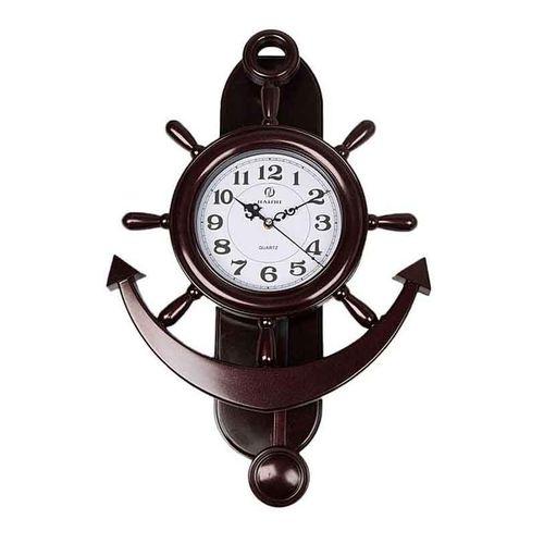 Anchor Wall Clock - Brown