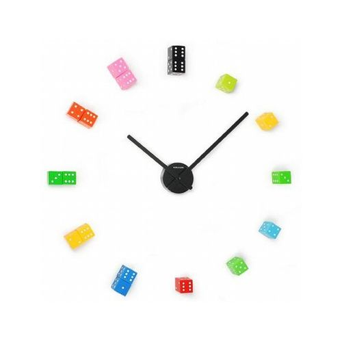 3D WALL CLOCK NEW 2017 DESIGN MULTI COLOUR