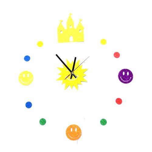 3D Wall Clock - Multi-color