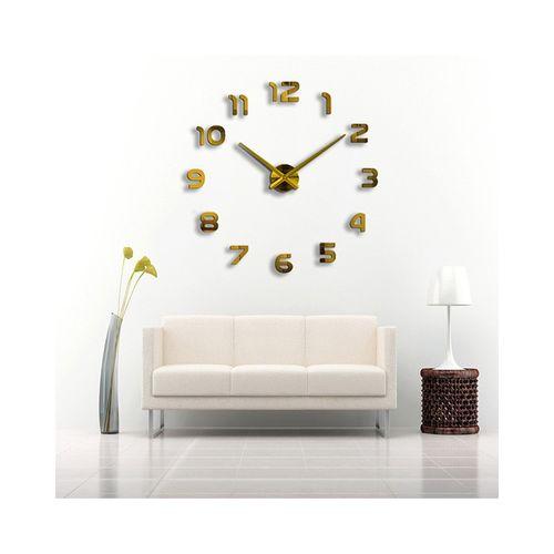 Silent Wall Clock - Copper