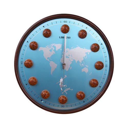 Basket Ball Design Wall Clock