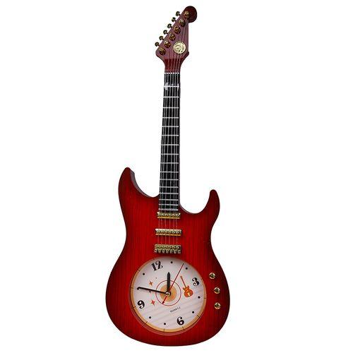 Guitar Shape Wall Clock