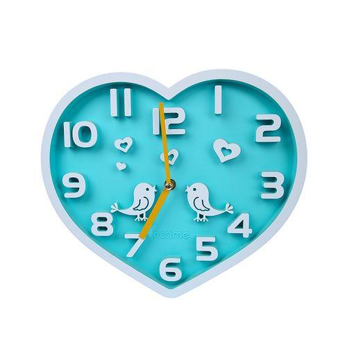 Heart Shape Design Wall Clock