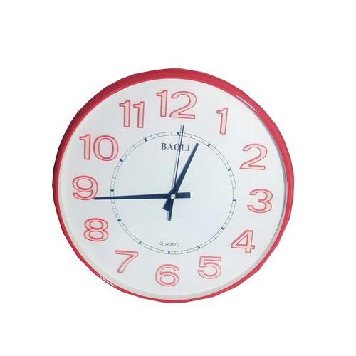 Wall Clock Round Shaped Beautiful Design Elegant Color - SA