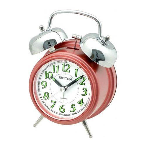 CRA844NR01 - Value Added Bell Alarm Clock - Red