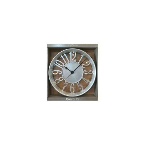 Vintage Wall Clock - VIC316 - Silver