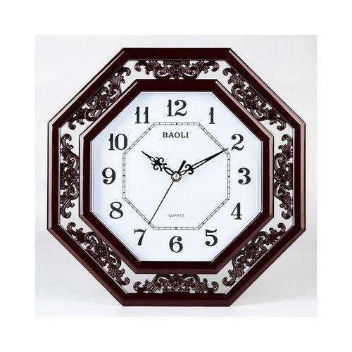 Wall Clock - Brown