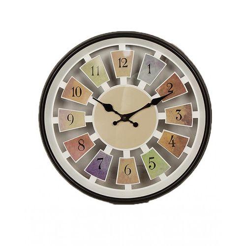 "Decoration Wall Clock - 12x12"" - Black & White"
