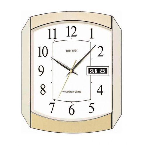 C F H102 N R65 - Value Added Wall Clock - Gold/ Silver