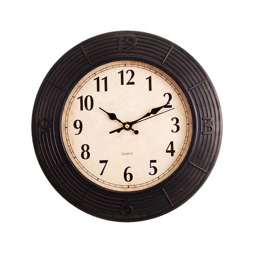 Simple And Elegant Wall Clock - Black