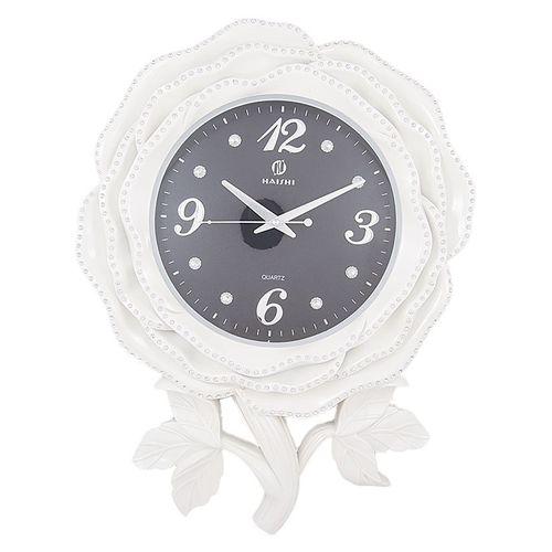 Wall Décor Clock - 24x18'' - White