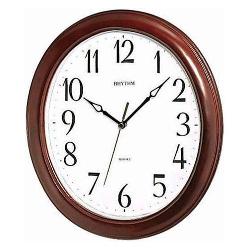 CMG271NR06 - Wooden Wall Clock-Japan- Brown