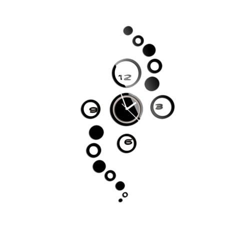Circle Wall Clock - Black