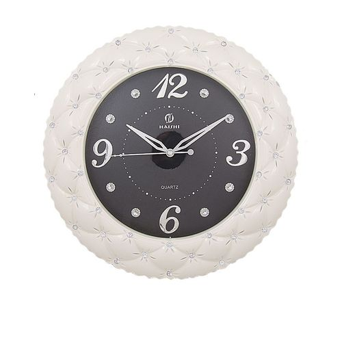 Wall Clock - White & Black