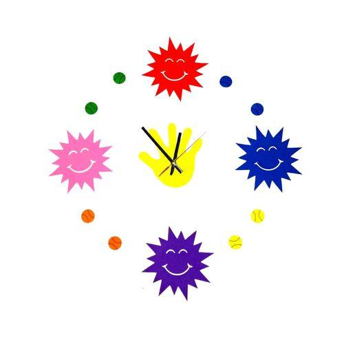 Birds Design Wall clock - Multi Colour