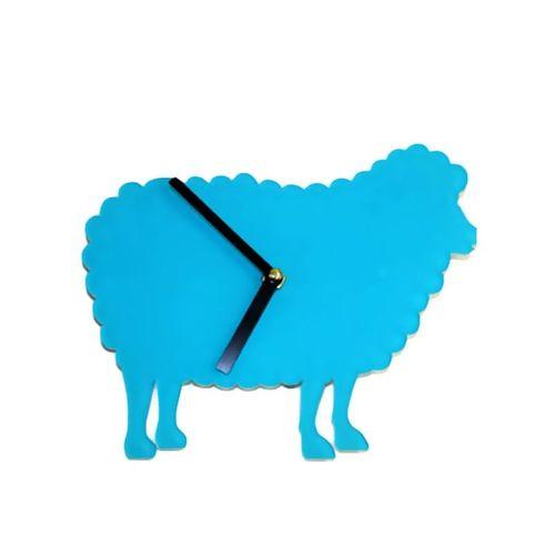 Sheep Wall Clock - Blue