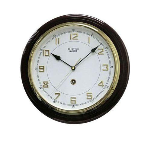 C M G931 N R06 - Wooden Wall Clock - Black