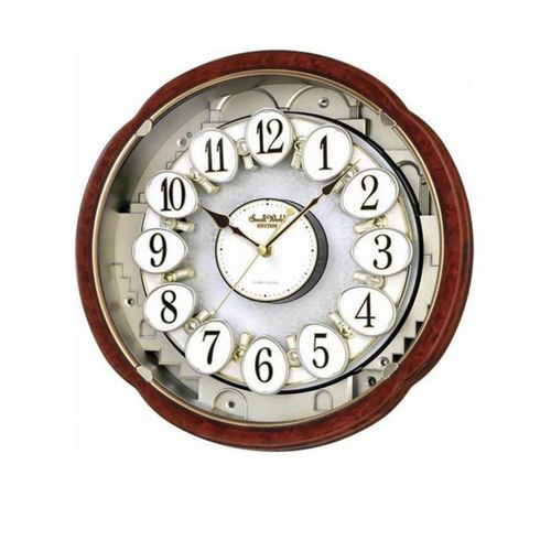 4 M H828 W D23 - Magic Motion Clock - Brown