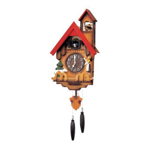 4 M J417 - R06 - Cuckoo Clock - Brown