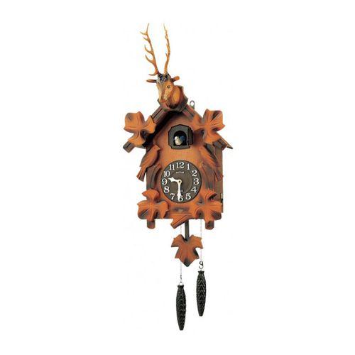 4 M J419 - R06 - Cuckoo Clock - Brown