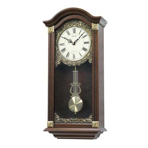 C M J524 N R06 - S I P (Sound In Place) Wall Clock - Brown