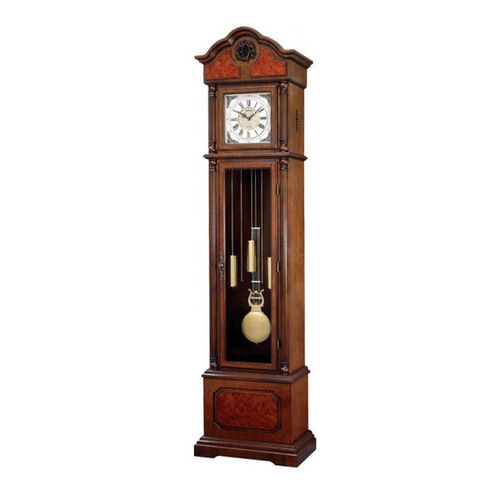 C R J605 N R06 - S I P (Sound In Place) Grand Father Clock - Brown