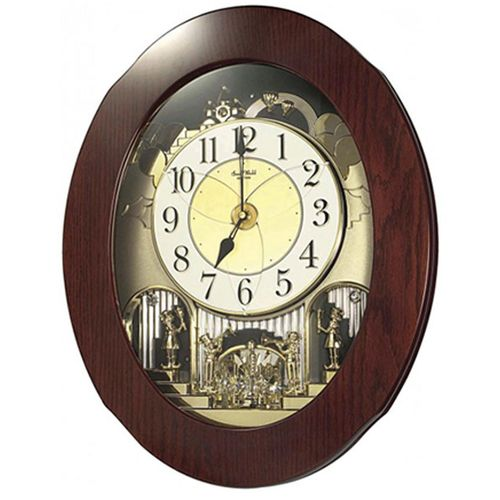4 M H838 W D06 - Magic Motion Clock - Brown