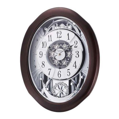 4 M H869 W D06 - Magic Motion Clock - Brown