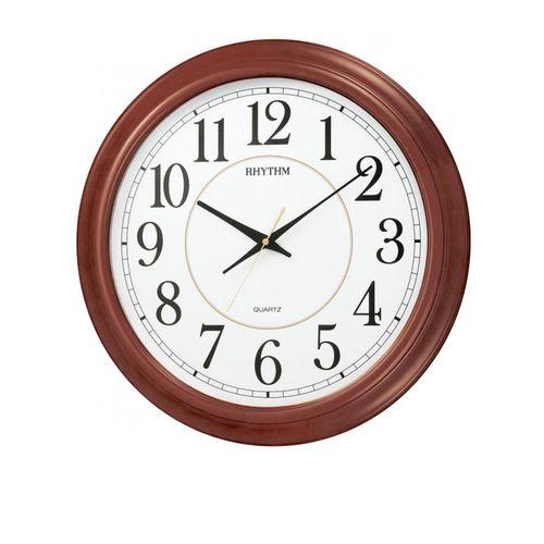 C M G982 N R06 - Wooden Wall Clock - Brown
