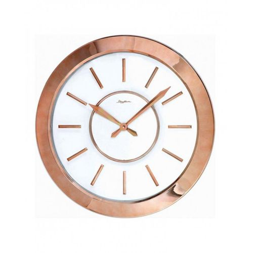 CMG749NR13 - Value Added Wall Clock - Pink & Golden