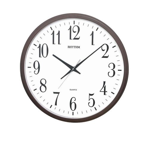 C M G430 N R06 - Value Added Wall Clock - Brown