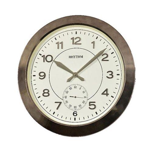 C M G771 N R02 - Value Added Wall Clock - Brown (Brand Warranty)
