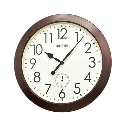 C M G770 N R06 - Value Added Wall Clock - Brown (Brand Warranty)