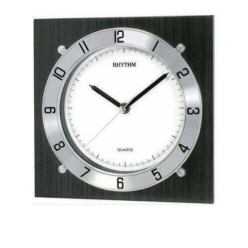 CMG983NR02 - Wooden Wall Clock - Black