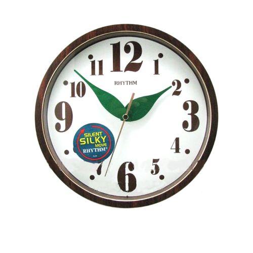 C M G510 N R06 - Value Added Wall Clock - Brown (Brand Warranty)