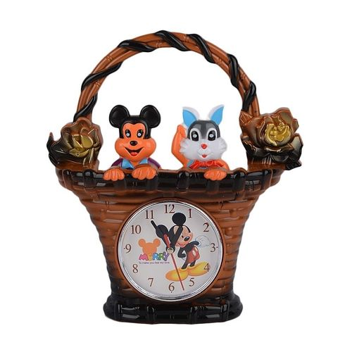 Shop2home Table Clock For Kids Brown Shoppers Pakistan