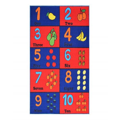Educational Shapes&Alphabets Kids Rug