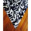 Brazilian Patchwork Rug - Black & White