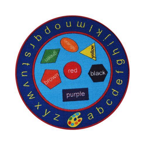 Alphabets Rug for Kids - Multicolor