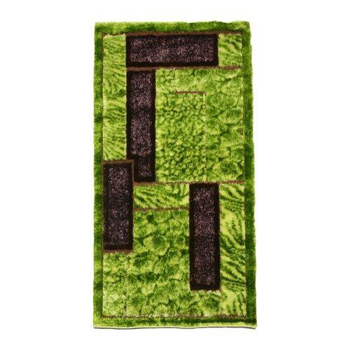 Grass Shaggy Rug - Green & Brown