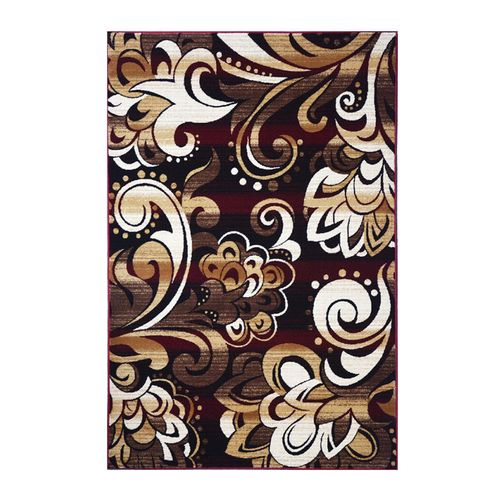06 - Persian Rug - Brown & Beige