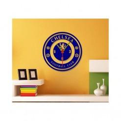 Chelsea Football Club Acrylic Wall Clock - Blue