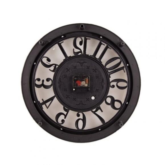 "Antique Hollow Wall Clock - Gray - 14x14"""