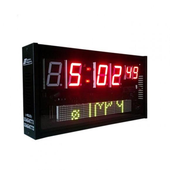 Z S C -306 M M D - Namaz Clock - Black