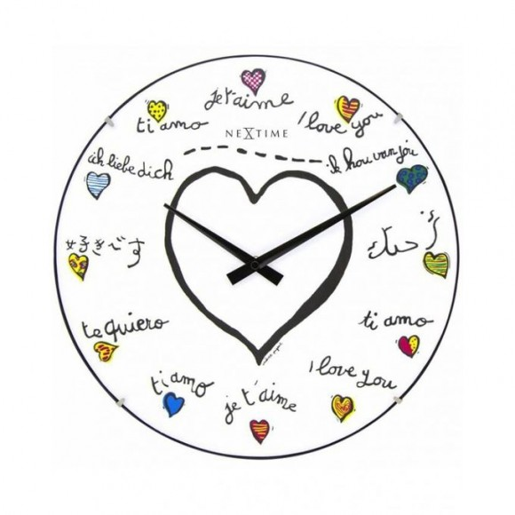 3160 - Loving You Dome - Wall Clock - Netherlands