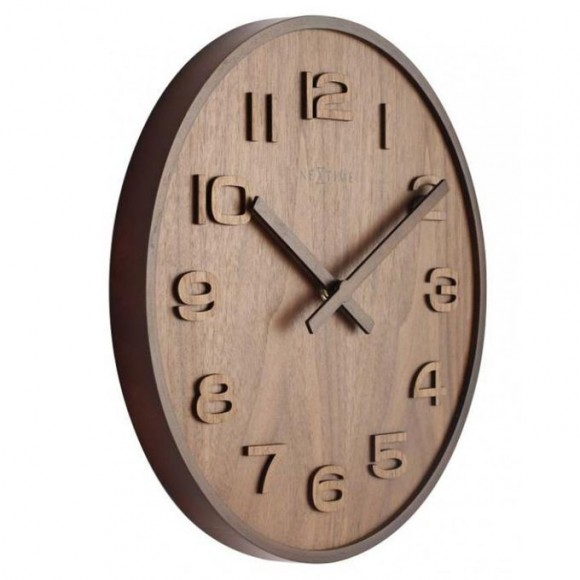 Wood Big Wall Clock - Netherlands